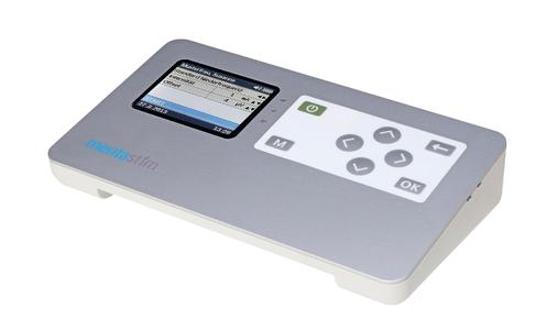 The mentastim neurostimulator is intended for professional users such as physicians, physical and occupational therapists as well as the patient himself, who can use the device in at-home therapy.