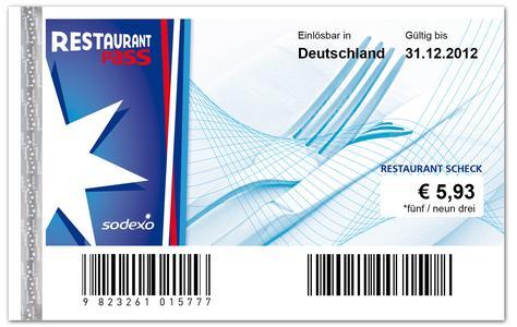 Neues Design: Der Sodexo Restaurant Pass (Foto:Sodexo)