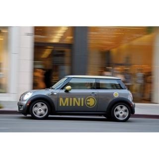 Elektromobilität im Fokus: Der MINI E wird in Kopenhagen beim Klimagipfel COP15 eingesetzt