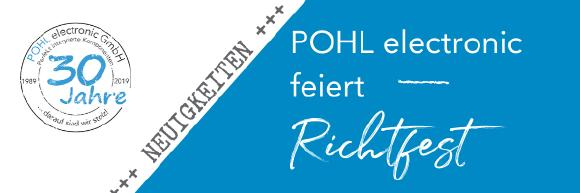 Richtfest POHL electronic