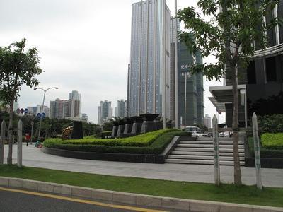 Brand-new district in Shenzhen