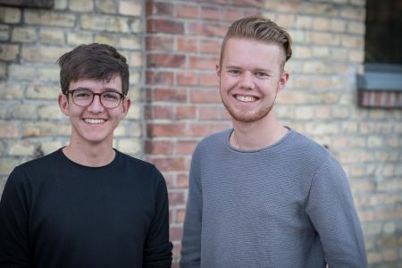 Gründer David Knöbl und Neele Maarten de Vries (c) Tobias Hertle