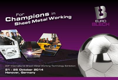 "EuroBLECH 2014 presents online competition ""Champions in Sheet Metal Working"""