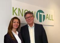 Die Gründer und Geschäftsführer Stephanie Barth und Tom Little