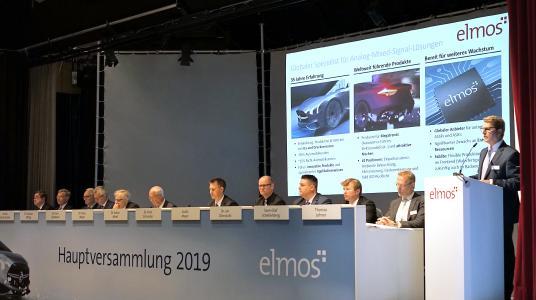 Elmos Hauptversammlung 2019