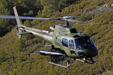 FENNEC AS550  in flight  is enclosed (Ref. DIGIT-03914, © Copyright Eurocopter, Anthony Pecchi)