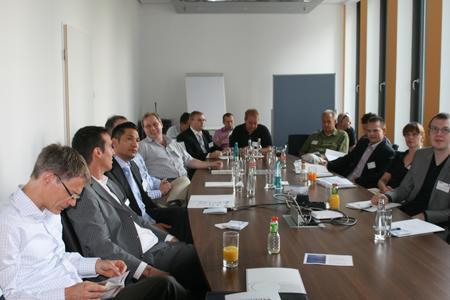 Workshop Teilnehmer IT Security Day bei Infinigate
