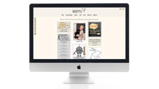 Die Startseite auf dem Display