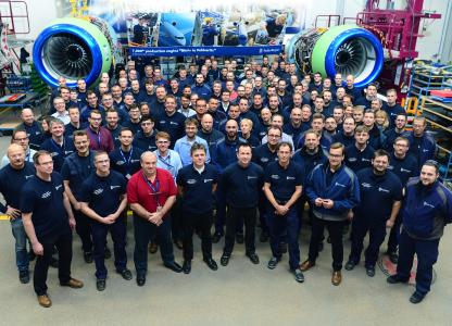 7000th engine delivery from Dahlewitz