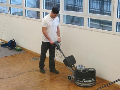 Jonas Vetter löste die ihm gestellten Aufgaben mit Bravour. (Bild: Piepenbrock)