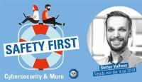 """TÜV SÜD-Podcast """"Safety First"""": Trends von der it-sa 2019"""