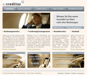 accreditas.de Startseite