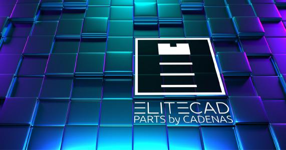 Free update for ELITECAD Mechanics 14 with parts4cad integration from CADENAS