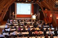 Rund 150 Besucher verfolgten die Vorstellung auf dem jährlichen Treffen der BIOS2000-Anwender am 17.10.2013 in Fürstenfeldbruck / Bild: Geovision GmbH & Co. KG
