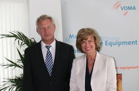 VDMA und Maritime Koordinatorin einig über Exportstrategie