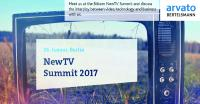 Arvato Systems as Host, Partner and Expert at Berlin's 2017 NewTV Summit