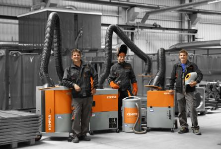 Successful development: Within the last eight years, KEMPER has doubled its turnover. (Source: KEMPER GmbH)