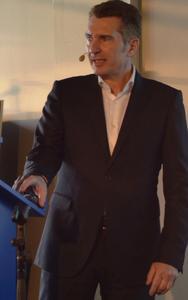 Günter Legel, Leiter des Unternehmensbereichs BINOVABAU der Bien-Zenker GmbH, führte aus, dass in Deutschland bis 2030 etwa 2,3 Mio. neue Wohneinheiten gebraucht werden / Fotos: Achim Zielke