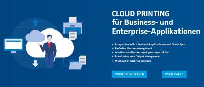 Cloud Printing für Business- und Enterprise-Applikationen