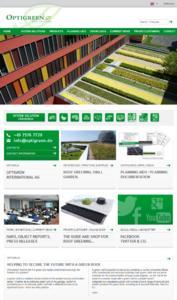 Englische homepage