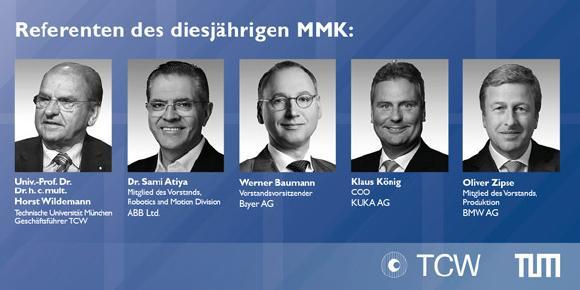 Rückblick 26. Münchner Management Kolloquium - Smart & Agil & Disruptiv - Wertschöpfung 4.0