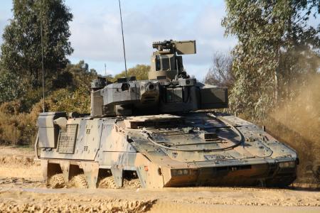 Rheinmetall Boxer CRV Outback (1)