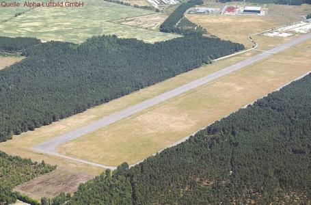 Alpha Luftbild Flugplatz Luckau(Alteno) Cahnsdorf