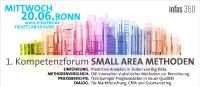1. Kompetenzforum SMALL AREA METHODEN in Bonn am 20.06.2018. Tickets ab 69 Euro.