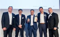 "Übergabe Fortinet Award ""xSP Partner of the Year"""
