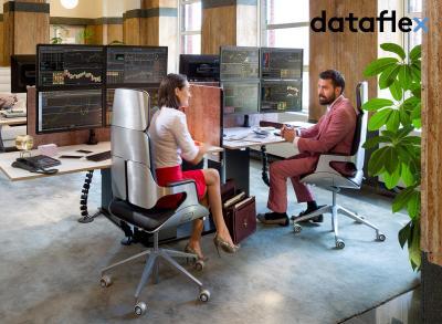 dataflex Monitorhalterung für 4 Monitore