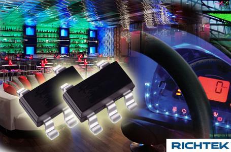 RT8470 LED driver from Richtek