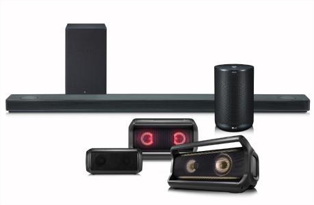 Die 2018er Lautsprecherserie von LG überzeugt mit erstklassigem Sound, einfacher Bedienung und intelligenten Funktionen