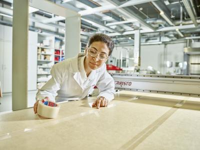 Glasfaserverstärkte Monofilament Klebebänder
