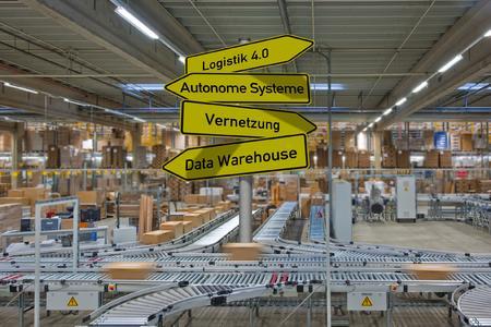 Logistik 4.0 - mit Unitechnik die richtigen Weichen stellen