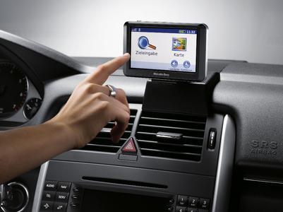 Garmin liefert mobile Navigationslösung für Mercedes-Benz