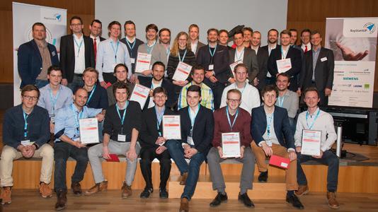Sieger des Münchener Businessplan Wettbewerbs 2016 Phase 1