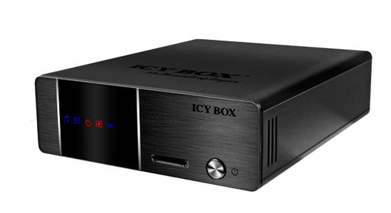 network-HDD recorder and media player ICY BOX IB-MP3010