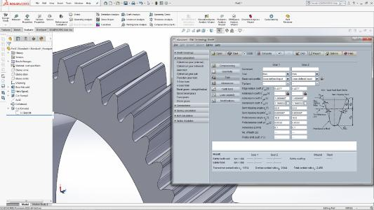 Consideration of semi topping flank in SOLIDWORKS