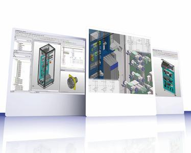 Starke Ansichten: Mit EPLAN Pro Panel lassen sich elektro- und fluidtechnische Montageaufbauten schnell und komfortabel in 3D erstellen