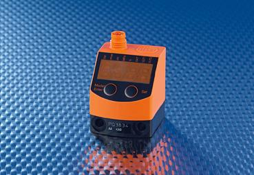Compact, analogue pressure sensor for efficient compressed air control or filter monitoring