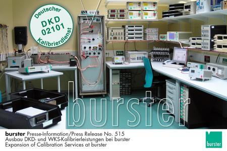Photo Calibration Station DKD-K-02101 at burster