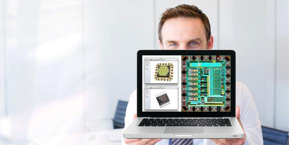 Transimpedance amplifier for optical sensors for quality inspection in inline manufacturing processes or in touchless handheld devices (Copyright: MAZeT GmbH)