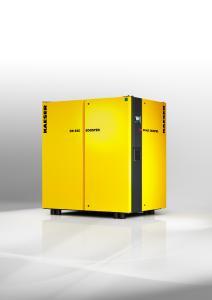 Die neuen Kaeser Nachverdichter präsentieren sich im kompakten, modernen Design und mit Frequenzregelung