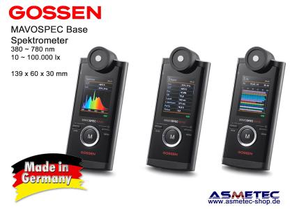 Gossen MAVOSPEC BASE Spektrometer ASM-Version