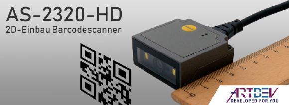 ARTDEV AS-2320-HD - 2D-Einbau Barcodescanner