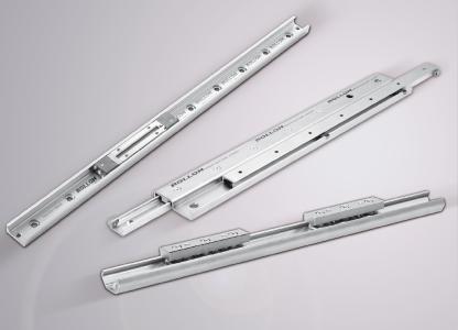 Effizient und kompakt: Die Linearführungen Easyslide und X-Rail von Rollon gewährleisten einen ruhigen Lauf, hohe Traglasten sowie eine lange Lebensdauer