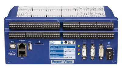 New versions for vibration monitoring and analysis with Expert Vibro