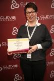 Freut sich über die Auszeichnung als Star-Arbeitgeber: Nicole Laufersweiler von B. Braun / Bildnachweis: Clevis Consult