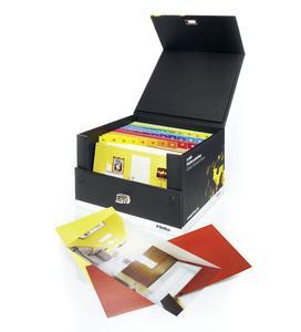 Die Scala Farbmusterbox ist ein Element der prämierten Kampagne von Brillux.