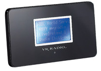 "VR-Radio WLAN Internetradio-Receiver ""Worldstream Air"" mit MP3-Streamer Macht das HiFi-System fit fürs weltweite Internet-Radio"